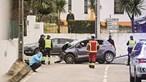 Morreu a bebé raptada pela mãe em Rio Maior. Mulher despistou-se com os dois filhos no carro