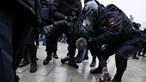 Mulher de Navalny detida durante protestos em Moscovo pela libertação do opositor russo