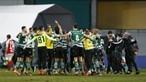 Sporting bate Sp. Braga por uma bola a zero e conquista terceira Taça da Liga