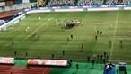 Ânimos exaltam-se em campo após vitória do Sporting na Taça da Liga. Veja o vídeo