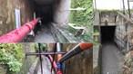 Clientes de restaurante fogem à PSP por túnel inundado e acabam resgatados