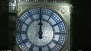 Londres celebrou a chegada de 2021 e o fim do período de transição do Brexit