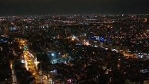 Ruas de Istambul, na Turquia, vazias nas boas vindas a 2021