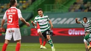 Sporting vence Sp. Braga e não larga a liderança da Liga