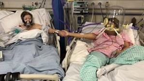 Mulher infetada com Covid-19 vê mãe morrer com a doença ao seu lado no hospital
