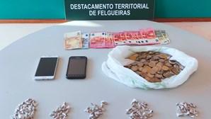 Dois homens detidos por tráfico de droga em Felgueiras