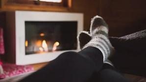 Domingo de inverno marcado por temperaturas negativas