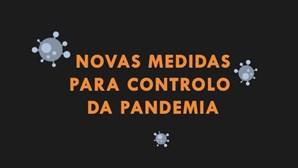 Conheça ponto por ponto as novas medidas decretadas pelo Governo para controlo da pandemia da Covid-19