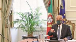 Marcelo regressa ao Palácio de Belém em vigilância após susto com Covid-19