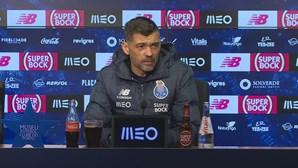 """""""Se não ganharmos, temos pistolas e fisgas apontadas"""": Sérgio Conceição focado no Clássico"""
