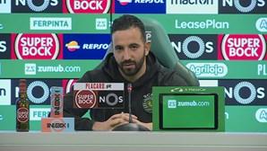 """""""Sporting fará um grande jogo"""", garante Rúben Amorim"""