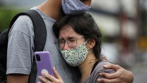 Brasil chega aos 13 milhões de casos Covid-19 após somar 28.645 infeções em 24 horas