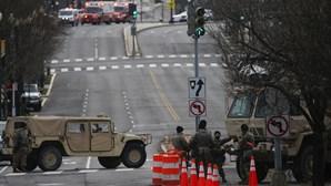 Homem armado e com passe falso para tomada de posse de Joe Biden detido perto do Capitólio em Washington