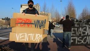 """Novo protesto """"antifa"""" contra André Ventura em Trás-os-Montes"""