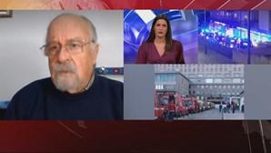 Presidente da Liga dos Bombeiros Portugueses critica tempos de espera nos hospitais