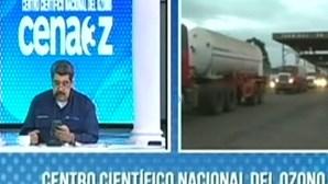 Nicolás Maduro anuncia envio de oxigénio para o Brasil