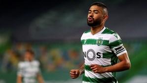 Bruno Tabata testa positivo à Covid-19 e é baixa na equipa do Sporting