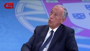 "Marcelo Rebelo de Sousa: ""Usarei bomba atómica se for estritamente necessário"". Veja a entrevista na íntegra"