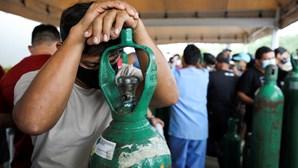 Hospitais do estado brasileiro do Amazonas registam mais de 50 mortos por semana devido à falta de oxigénio