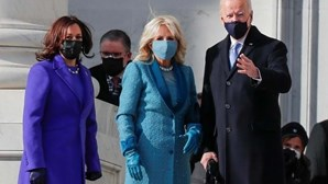Jill Biden escolhe look com simbolismo especial na tomada de posse do marido