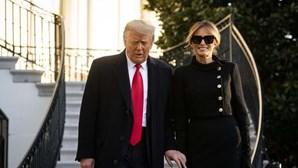 Melania Trump livre para avançar com divórcio