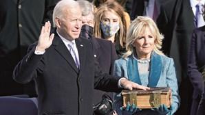 Os 10 momentos que marcaram a tomada de posse de Joe Biden