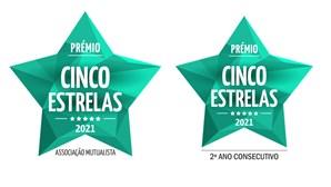 """Associação Mutualista Montepio distinguida  com Prémio """"Cinco Estrelas 2021"""""""
