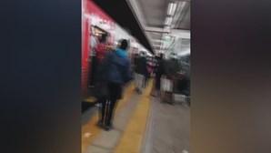 Caos na linha de Sintra: Utentes denunciam comboios lotados e falta de condições de segurança