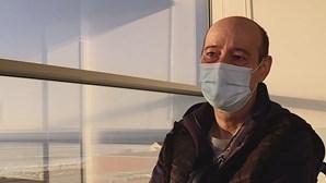 Mário Rui, o paciente que esteve mais tempo internado com Covid-19 em todo o mundo