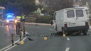 Um morto em acidente na marginal em São Pedro do Estoril