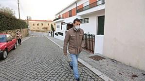 Memória do pai em passeio higiénico do candidato Vitorino Silva