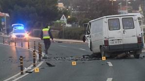 Acidente na marginal em São Pedro do Estoril faz um morto