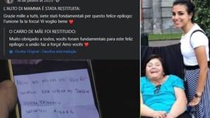 Ladrões devolvem carro roubado a mulher com esclerose múltipla e pedem desculpa