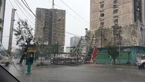 Tempestade causa morte e destruição na Beira, Moçambique
