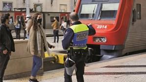Falta de máscara com ordem para multar durante Estado de Emergência