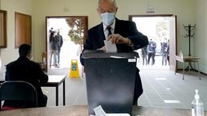 Marcelo Rebelo de Sousa assinala cumprimento de regras sanitárias para votar nas eleições presidenciais