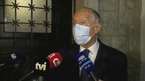 Marcelo contente pelo esforço dos portugueses de votarem em plena pandemia