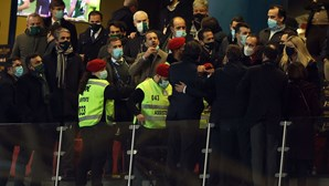 Seguranças travam violência na final da Taça da Liga entre Sporting e Sp. Braga
