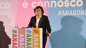 """Ana Gomes ataca PS: """"Lamento profundamente a não comparência do meu partido às eleições"""""""