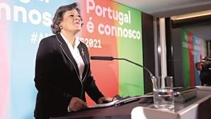 Resultado de Ana Gomes com sabor agridoce: não leva Marcelo à segunda volta e vê Ventura aproximar-se