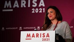 """""""Resultado não é o que eu desejava"""": Marisa Matias reage às eleições presidenciais e ataca """"extrema-direita"""" de Ventura"""