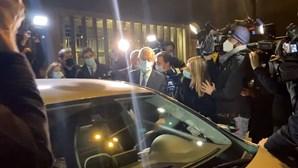 Marcelo regressa a casa após noite de eleições com sucesso