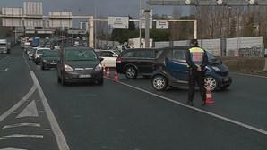Dois detidos em operação de fiscalização da PSP no IC19 em Lisboa