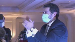 Ventura não anuncia demissão, mas coloca o seu futuro no Chega nas mãos dos militantes do partido