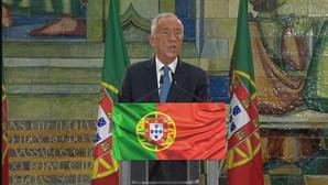 """""""Portugueses querem mais e melhor"""", diz Marcelo Rebelo de Sousa ao ser reeleito Presidente da República"""