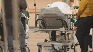 Hospitais do Centro com ocupação de 95% de doentes com Covid-19