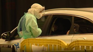 Centenas de pessoas testadas à Covid-19 em centro de testes de Leiria