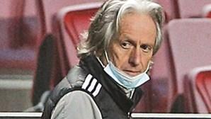 """Jorge Jesus: """"Benfica ainda tem uma palavra a dizer"""""""