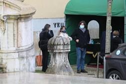 Carlos do Carmo homenageado no derradeiro adeus na Basílica da Estrela, em Lisboa