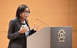 Francisca Van Dunem, ministra da Justiça